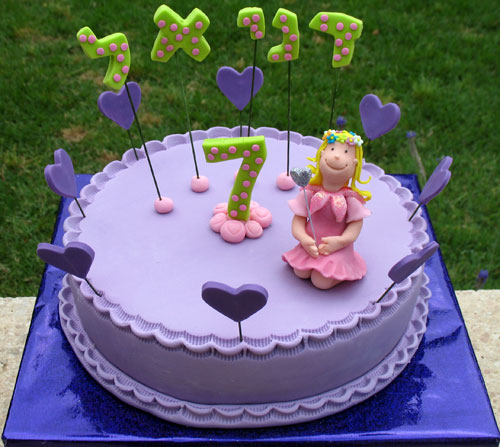 Cake Design For 7th Birthday Girl : Orly Gileadi Avidor - Art Work - .::.